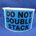 """Do Not Double Stack 2""""x3"""" - Packing Shipping Handling Warning Label Stickers"""