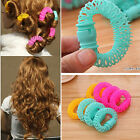 8 PCS Women Bendy Hair Roller Curler Spiral Curls DIY Hairdressing Best