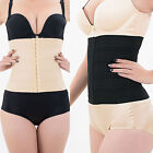 Lady Waist Trainer Body Shaper Tummy Control Girdle Slim Belt Black Sport Corset