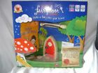 NEW WOODEN FAIRY DOOR SET WITH KEY BOTTLE NOTE PAD LEASE GUIDE CHILDRENS KIDS