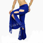 New Belly Dance Costume Flank Openings Lace Trousers Pants  3/1