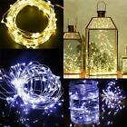 3M 30LED 3A Battery Operated String Lights Silver Wire Xmas SUPERNIGHT