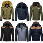 Kyпить BOLF Winterjacke Sweatjacke Herren Men Übergangs Steppjacke Jacke Mix 4D4 Kapuze на еВаy.соm