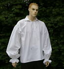 Mens Medieval / Georgian Rennaisance poets pirate shirt 100% cotton