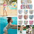 New Infant Baby Boy Girl Adjuatable Reusable Swim Diaper Nappy Pants Shorts LJ