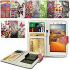 For Microsoft Lumia 640 LTE Dual SIM - Design PU Leather Wallet Case Cover