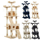 """67"""" Cat Tree Tower Condo Furniture Scratching Post Pet Kitty Play House US Stock"""