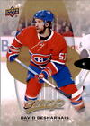 2016-17 Upper Deck MVP Hockey #14 David Desharnais Montreal Canadiens