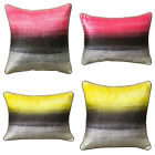 Scatter Box Ambience Velvet Sheen Reversible Feather Filled Cushion