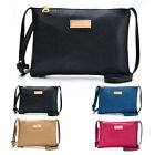 Womens PU Leather Crossbody Satchel Purse Tote Shoulder Bag Messenger Clutch Bag