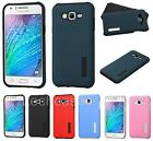 Hybrid Protector Rubber Cover Case for Samsung Galaxy J7 cell phone