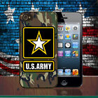 United States Army Camouflage iPhone X Hard Case SE 4 4S 5 5S 5C 6 7 8 Plus
