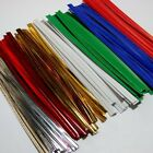 """Bag Twist Ties -  4"""" - 100 pcs / Gold, Silver, White or Red"""