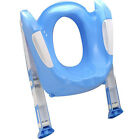 Baby Toddler Folding Potty Toilet Trainer Safety Seat Chair Step with Ladder New