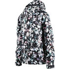 VOLCOM Womens 2017 Snowboard Snow Flutter Collage Print BOLT INSULATED JACKET