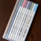 A Set of 10 Colors Metallic Marker Pens Gold Silver White Pink Ink Card Making
