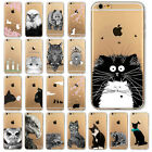 Coque chat hibou lapin silicone TPU gel housse Case iPhone 4/4s5s/5 5C 6s/6 plus