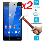 2X Glass Screen Protector For Sony XperiaZ3 Z5/Compact/Premium Hardness Tempered