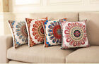18'' Square Embroidered Pillowcase Cushion Cover Throw Pillow Case Home Decor