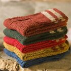 New Womens Cashmere Wool Thick Warm Socks Winter Fashion Striped Design 5 Pairs