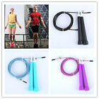 Speed Wire Skipping Adjustable Jump Rope Fitness Sport Exercise Cardio 0o