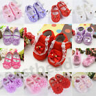 Newborn to 18M Infants Soft Crib Shoes Moccasin Prewalker Sole Shoes For Baby