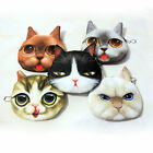 Gifts Cartoon Cat Dog Shiny Eyes Zip Coin Make up Bag Mini Purse Change Wallet