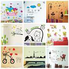 childrens animal wallpaper - Cartoon Animal Wall Sticker Mural Vinyl Decal Art Home Room DIY Decor Wallpaper