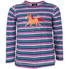Horka long sleeved T shirt with diamantes ( horse riding kids childs )