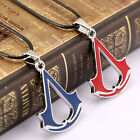 New Style Cosplay Assassins Creed Necklace Chain Titanium Gift Pendant Choker LF