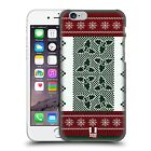 HCD HEAD CASE DESIGNS KNITTED CHRISTMAS HARD BACK CASE FOR APPLE iPHONE 6 6S