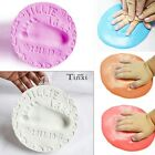 Soft Clay Baby Handprint Footprint Imprint Casting Hand Inkpad Fingerprint TXWD