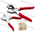 Eyelet Revolving Hole Punch Plier  DIY Leathercraft Tool Kit  for Leather Craft