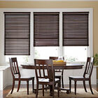"2"" Natural Wood Blinds - 6 Colors - Free Shipping"