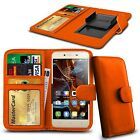 For LG L50 - Clamp Style PU Leather Wallet Case Cover