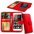 For Cubot S600 - Clamp Style PU Leather Wallet Case Cover