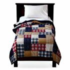 Circo Patches 'n Plaids Collection Twin or Full Quilt, Shams, Sheet Bed Set NIP