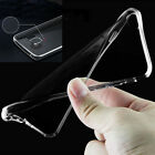 For Samsung Galaxy Clear Soft TPU Shockproof Gel Slim Back Case Skin Cover
