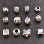 5/10Pcs Tibetan Silver European Charm Spacer Beads for Bracelet Necklace