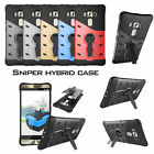 Whirling Armor Shockproof Kickstand Dual Layer Hybrid Case Cover For Asus Phone