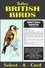 Tetley BRITISH BIRDS - Select - A - Card