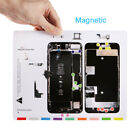 Professional Guide Magnetic Screw Keeper Chart Mat Repair Tool For iPhone 5 6 7