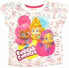 Bubble Guppies T Shirt Toddler Girls Short Sleeve Tee White Size 4t top New Tags