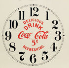 Внешний вид - New Coca-Cola Paper Clock Dial - Choose A Size & Style!
