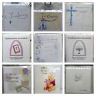 Christening Baby Shower Confirmation Invitation Invites Sheets & Envelopes Pack