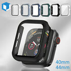 Apple Watch Series 1 38/42mm Full Cover Snap On Metal Case Built in Glass Screen