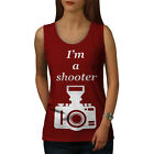 Photographer Cool Funny Women Tank Top S-2XL NEW | Wellcoda