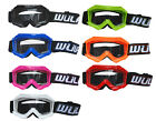 Wulfsport Wulf Kids Cub Tech MX Motocross Enduro Off Road Off Road ATV Goggles