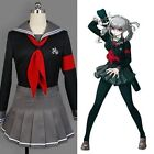Danganronpa Dangan-ronpa Peko Pekoyama School Uniform Skirt Outfit Cosplay