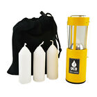 UCO Original Candle Lantern Value pack with 3 Candles. Perfect for camping